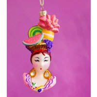 One Hundred 80 Degrees Lala & Chi Chi Glass Ornaments - ChiChi