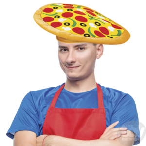 The Toy Network Pizza Hat