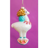 One Hundred 80 Degrees Lala & Chi Chi Glass Ornaments - Lala