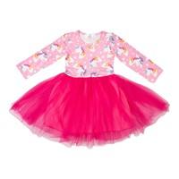 Mila Rose Pink Unicorn Tutu Dress