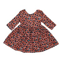 Mila Rose Spot On 3/4 Sleeve Pocket Twirl Dress