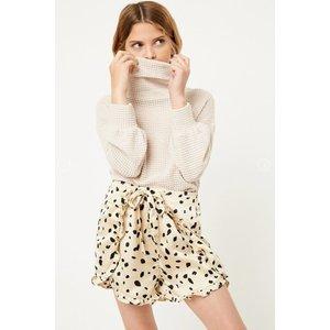 Hayden Polka-Dot Ruffle Shorts