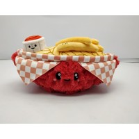 Squishables Plush Stuffed Mini French Fries Basket