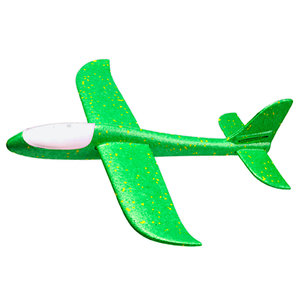 Spin Copter LED Sky Glider - GREEN