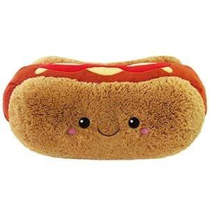 Squishables Comfort Food Hot Dog Plush Stuffed Animal