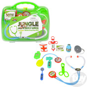 The Toy Network Green Jungle Veterinarian Kit - 10 Piece Set
