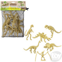The Toy Network Dinosaur Fossils Play Set (8PC)