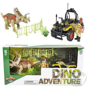 The Toy Network Triceratops Dinosaur Adventure Set