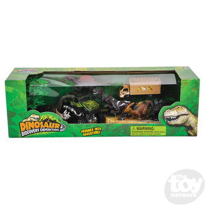 The Toy Network Dinosaur Exploration Playset - 11 pieces