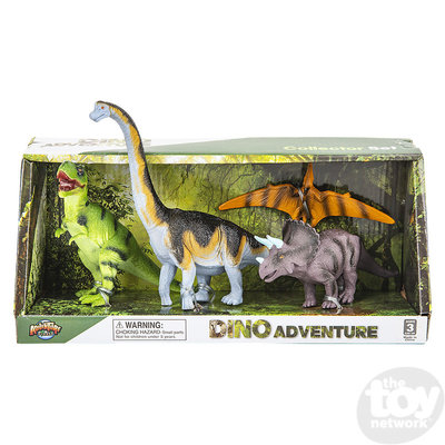 The Toy Network Dinosaur Discovery Expedition - 4 piece Figurine Playset