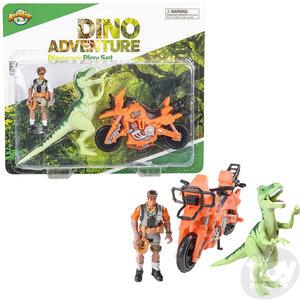 The Toy Network Dinosaur Animal Large 3 Piece Play Set