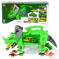 The Toy Network Triceratops Dinosaur Transporter Playset