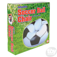 "The Toy Network Soccer Ball Chair Inflatable - 45"" x 44"" x 25"""