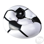 """The Toy Network Soccer Ball Chair Inflatable - 45"""" x 44"""" x 25"""""""