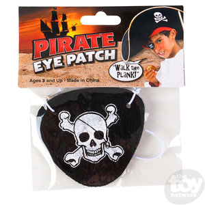 """The Toy Network Felt Pirate Eye Patch - 2.5"""""""