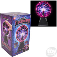 "The Toy Network 8"" Red Plasma Ball"