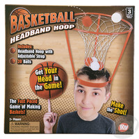 The Toy Network Basketball Headband Hoop Game