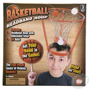 The Toy Network Basketball Headband Hoop Game