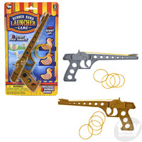 "The Toy Network Rubber Band Launcher Gun and Game (8.5"")"