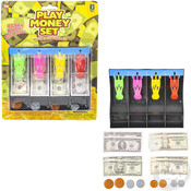 """The Toy Network 7"""" Play Money Set With Cash Drawer"""