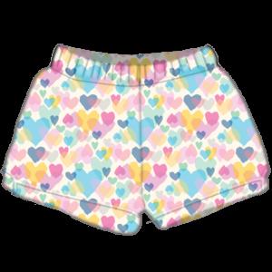 Iscream Pastel Hearts Plush Short
