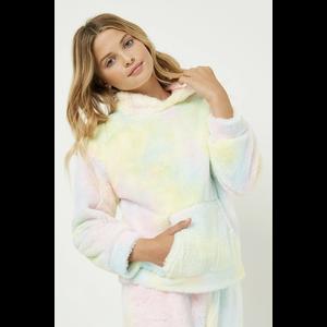 Hayden GY2359 - Tie Dye Fleece Hoodie