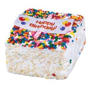 The Crispery The Crispery - Happy Birthday (Marshmallow  Rice Treat)