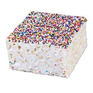 The Crispery The Crispery - Rainbow Non Pareils (Marshmallow Rice Treat)