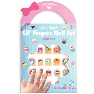 Girl Nation Mix & Match Sweet Shop - Lil' Fingers Nail Art (Scented)