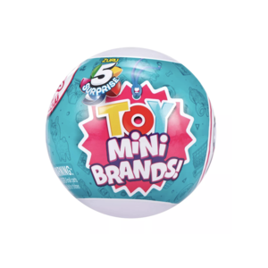 Zoofy 5 Surprise Collectible Toy Mini Brands