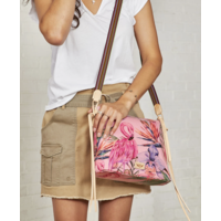 Consuela Downtown Crossbody - Brynn Flamingo