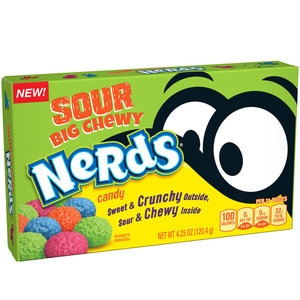 Redstone Foods Big Chewy Nerds Sour - Theatre Box