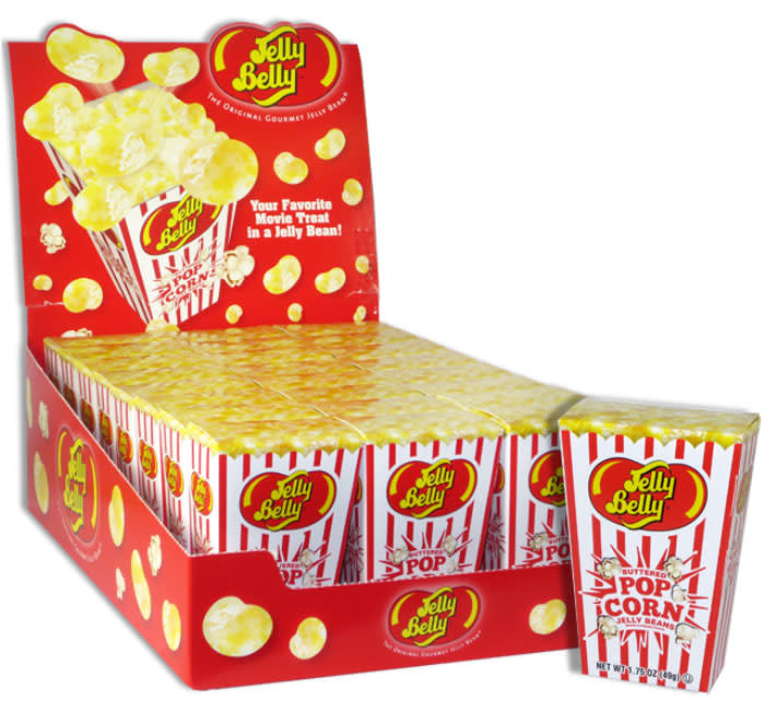 Buttered Popcorn Jelly Belly 1 75oz Box Whimsical Alley