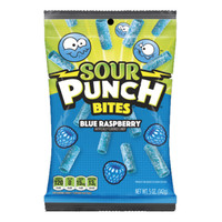 Redstone Foods Sour Punch Bites - Blue Raspberry (5oz Peg Bag)
