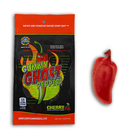 Redstone Foods Gummy Ghost Pepper *Insane Heat* - Cherry (1.75oz Peg Bag)