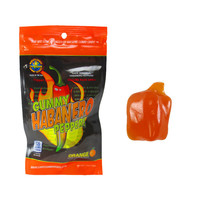 Redstone Foods Gummy Habanero Pepper *Strong Heat* - Orange (1.75oz Peg Bag)