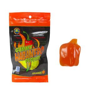 Redstone Foods Gummy Habanero Pepper *Strong Heat* - Orange (1.75oz Peg Bag)