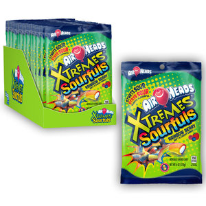 Redstone Foods Airheads - XTREMES Sourfuls (6oz Peg Bag)