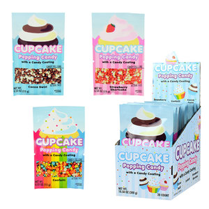 Redstone Foods Cupcake Popping Candy