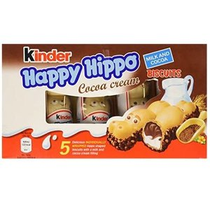 Redstone Foods Kinder - Happy Hippo Cocoa Biscuit - 5pc