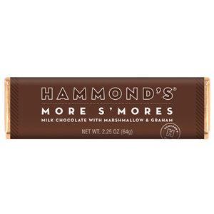 "Redstone Foods Hammond's ""More S'mores"" Milk Chocolate Bar"