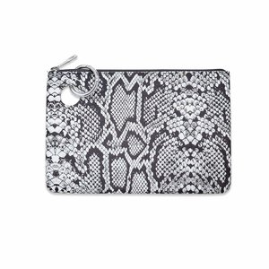 Oventure Large Silicone Pouch - Tuxedo Snakeskin