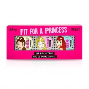 Mad Beauty USA LLC Disney Princess Lip Balm Trio