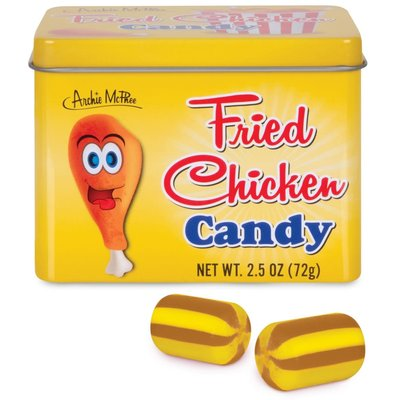 Archie McPhee Candy - Fried Chicken