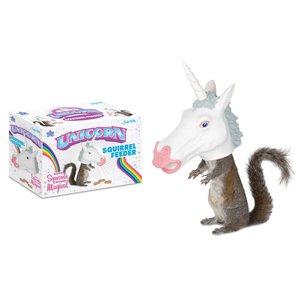 Archie McPhee Unicorn Head Squirrel Feeder