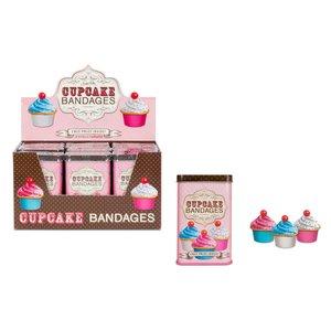 Archie McPhee Bandages / Bandaids - Cupcake
