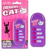 Archie McPhee Button - Emergency Cat