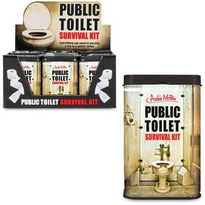 Archie McPhee Public Toilet Survival Kit