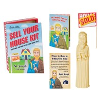 Archie McPhee St Joseph Sell Your House Kit