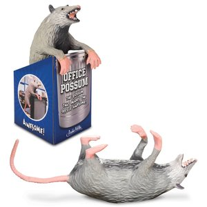 Archie McPhee Office Possum - Rubber Possum